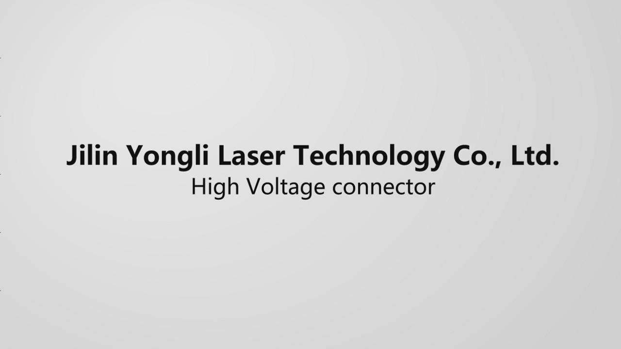 High Voltage connector-Product introduction and instructions